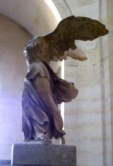 Louvre's angel photo - Karen Anderson