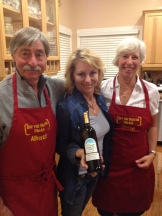 """Art and Cherie Andrews with PBS's """"off the beaten palate"""" star Michael Ann Rowe"""