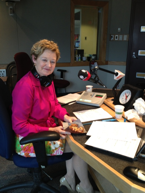 Holly Preston, host of Alberta at Noon proves radio people are smart & look great!