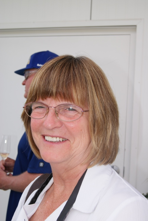 Roslyne (Roz) Buchanan, writer, Wine Trails, Savour, Penticton, BC