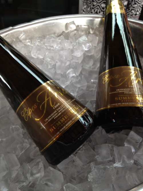 Summerhill Pyramid Winery opens their new Ariel sparkling vintage for us