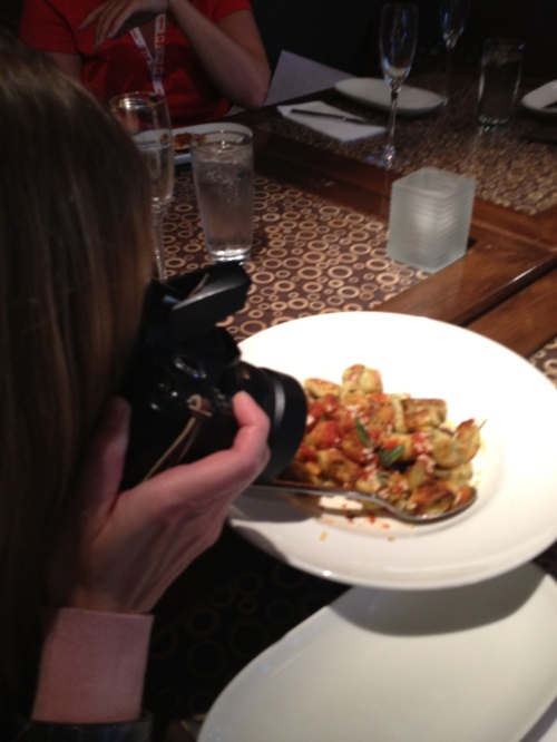 food writer cum food paparazzi