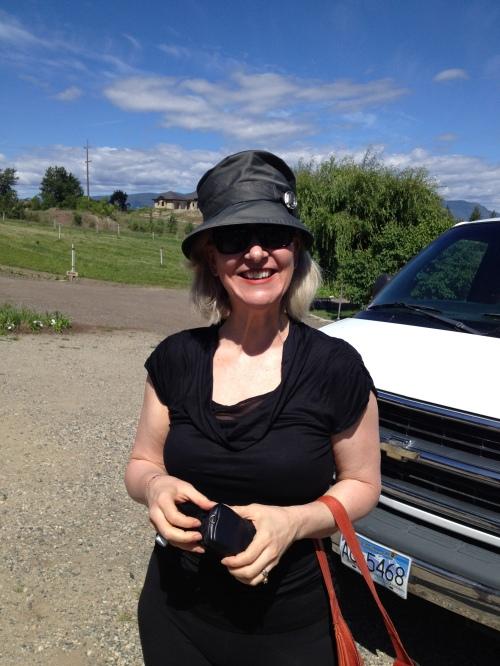 Deb Anzinger, cookbook author, Edmonton
