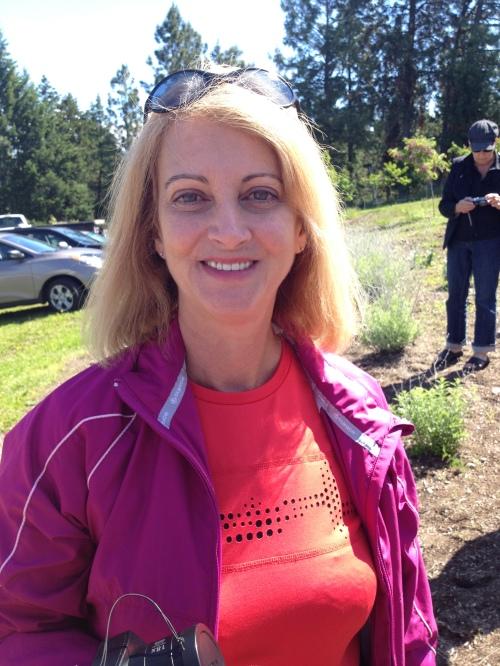 Louise Devaux, writer, Pentiction, BC
