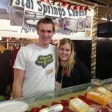 Jacco Beyer of Crystal Spring cheese