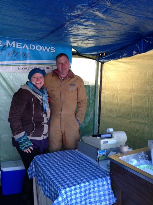 Carolyn & Harvey Van Driesten, Noble Meadows Cheese makers photo credit - Karen Anderson