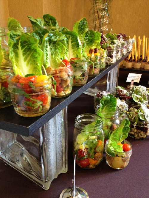 Preserving jar lunch presented by chef Stuart Klassen at the Delta Grand Okanagan
