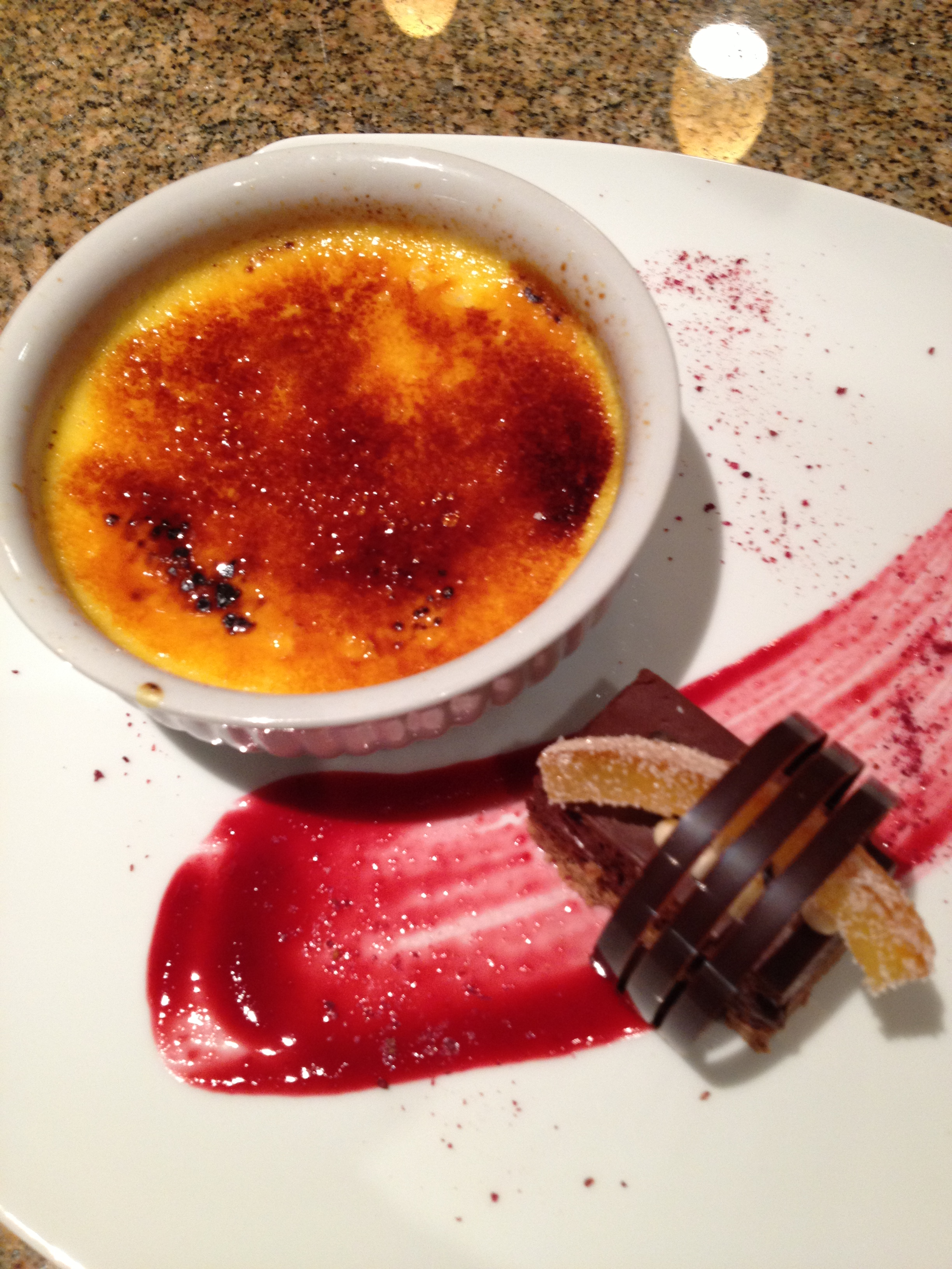That creme brulee Savour It All
