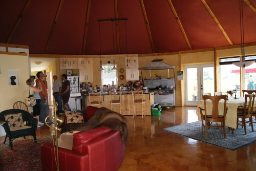 Here's the interior of a naturally built home I visited in Bergen, Alberta Is it what you were expecting? photo  - Karen Anderson