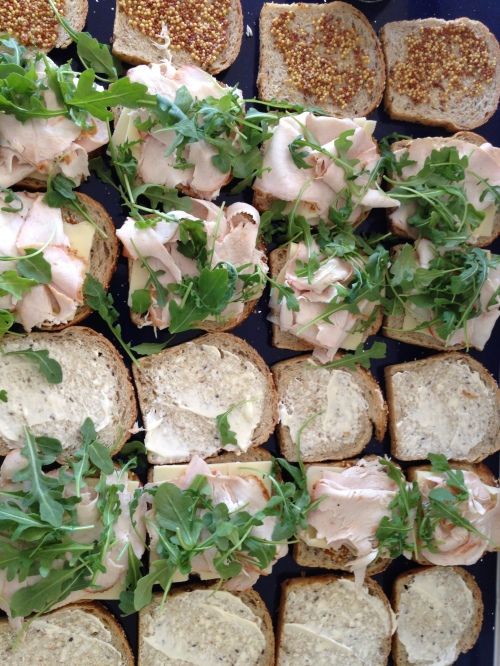 Sandwiches are eminently practical food Photo - Karen Anderson