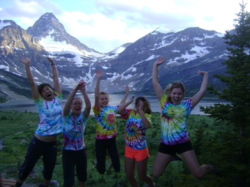 The staff  have great vitality and spirit at Mt. Assiniboine Lodge photo - Cole Anderson