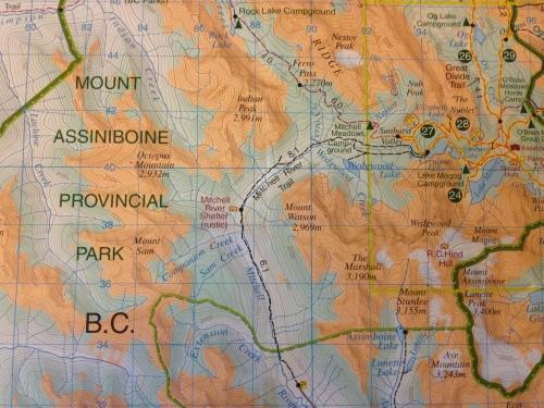 Mt. Assiniboine Provincial Park