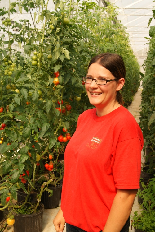 Carmen Fuentes - Innisfail Grower's Tomato grower photo - Karen Anderson