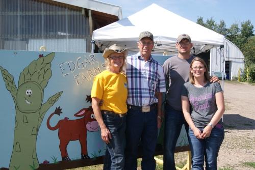 Elna and Doug Edgar with Keri and Randy Graham  photo - Karen Anderson