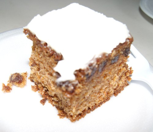Shelley's Sweet Nantes Carrot Cake