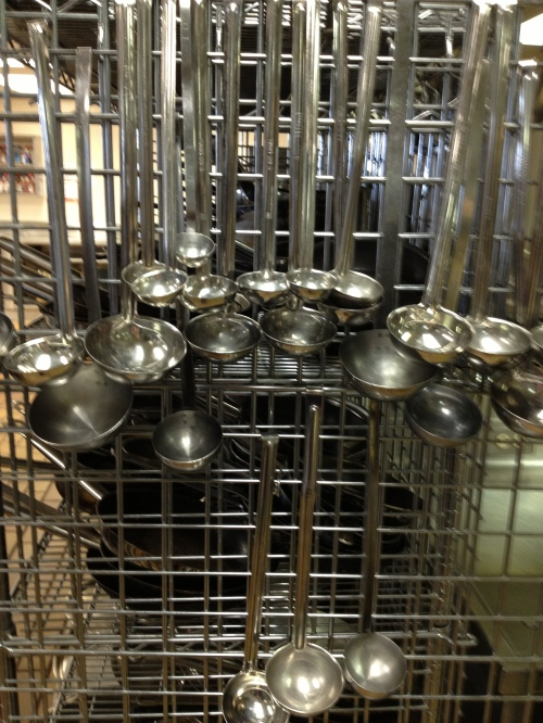 Ladles SAIT - Study in Stainless