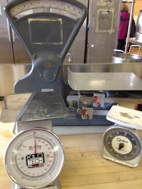 respect for recipe ratios requires weighing in once in a while photo - Karen Anderson