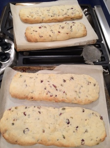 At this point, the first bake of the dough is complete or they're half-baked as I like to think photo - Karen Anderson