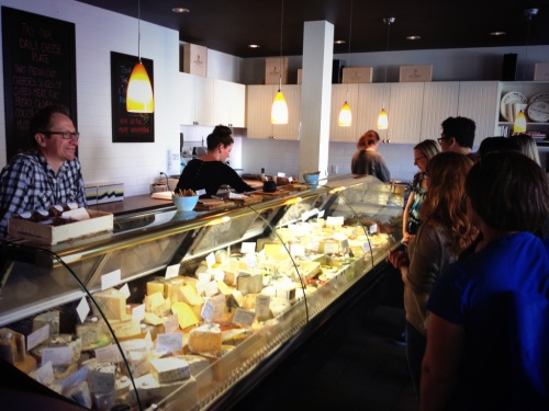 Book a private tour of the cheese case at Janice Beaton Fine Cheese photo - Karen Anderson