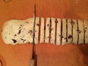 A serrated knife works best for slicing photo - Karen Anderson