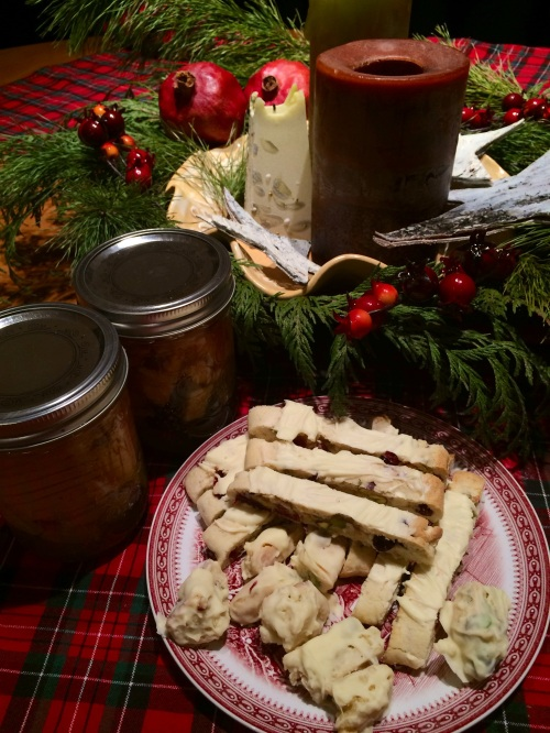 Spiced Apples and Holiday Biscotti photo - Karen Anderson