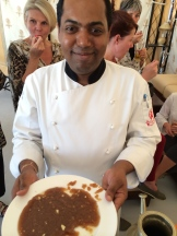 chef Jitendra Sahu of Rohet Garh photo - Karen Anderson