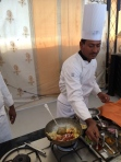 Chef Kadar Khan at Rohet Garh photo - Karen Anderson