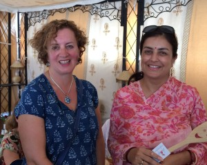 Me and Mrs. Rashmi Singh, owner of Rohet Garh  (the Singh family's home since 1622)