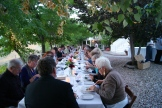 Joy Road Al Fresco Dinner at God's Mountain, Penticton, B.C. photo - Karen Anderson
