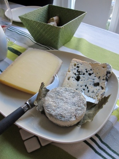Fresh cheeses photo - Karen Anderson