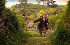 Hobbits are up for adventure and get exercise as a natural part of their daily life