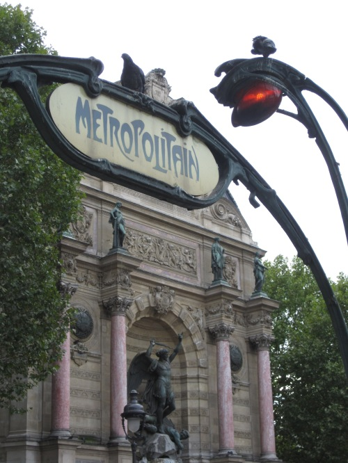 Public transportation is part of the fun of visiting Paris with your family photo - Karen Anderson