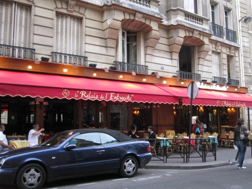 Relais L'entrecote was my son's favourite place to eat in Paris photo - Karen Anderson