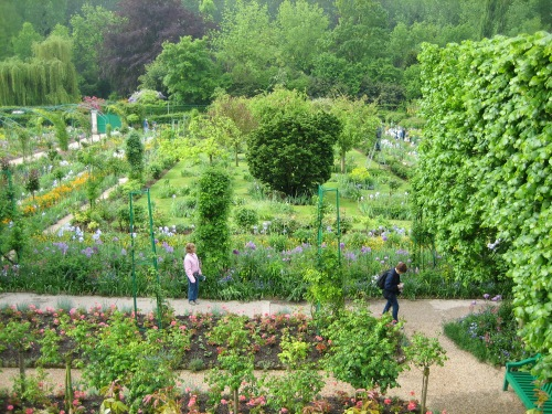 Monet's Garden - viewed from his home photo - Karen Anderson