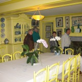 Monet's dining room shows his love of colour photo - Karen Anderson