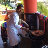 Chef Mario at Club Intrawest give cooking classes and market tours weekly photo - Karen Anderson