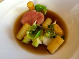 lamb belly in lamb broth photo - Karen Anderson