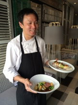 Chef Duncan Ly of Hotel Arts photo - Karen Anderson