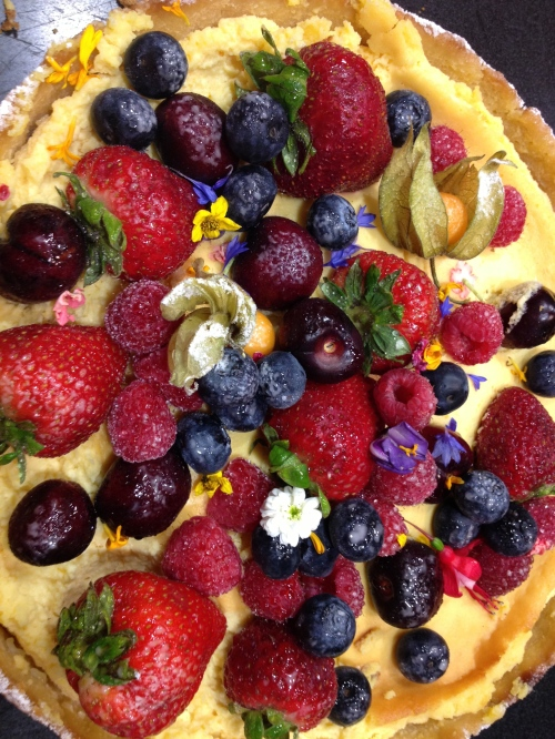 Lemon Mascarpone Tart photo - Karen Anderson