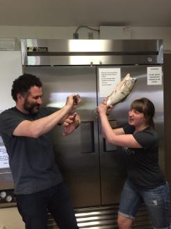 Skipper Otto's salmon are wild salmon photo - Karen Anderson