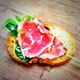 Beef Tartare from Silver Sage at the Calgary Farmers' Market