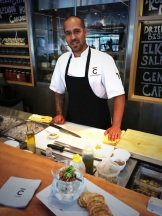 Chef Lance Monteiro at BarC photo - Karen Anderson
