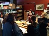 Blending spices at Silk Road Spice Merchants photo - Karen Anderson