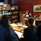 Blending spices at Silk Road Spice Merchants photo - Karen Anderson