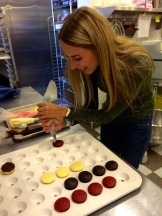We get to decorate our own cupcake at Crave photo - Karen Anderson