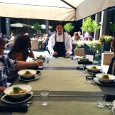 chef Duncan Ly at Hotel Arts photo - Karen Anderson
