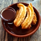 churros and chocolate at Ox and Angela photo - Karen Anderson