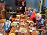 CIBO's private room is a cozy place to start our tours photo - Karen Anderson