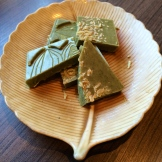 what does this chocolate and The Naked Leaf tea shop have in common? a lot photo - Karen Anderson