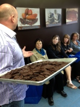 Owner Brad Churchill of Choklat with his bean-to-bar chocolate photo - Karen Anderson